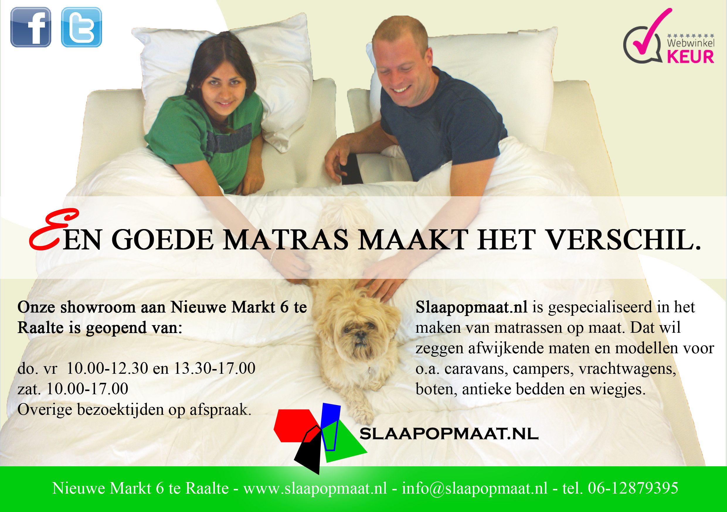 rsz advertentie matrasopmaat